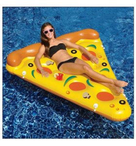 Пицца надувная(матрас)