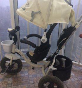 Трехколёсный велосипед Mini Trike с надувными коле