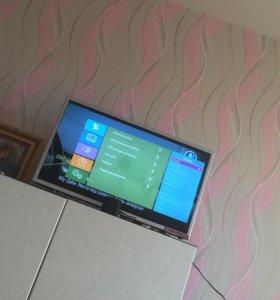 Телевизор смарт ТВ на Андроиде диагональ 32 дюйма