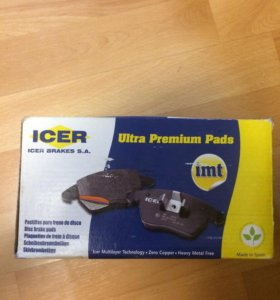 Тормозные колодки ICER (imt)