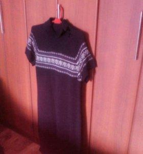 Платье- свитер р 50-54