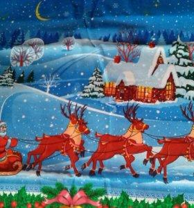 Скатерть новогодняя 150×180