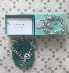 Браслеты Tiffany&Co