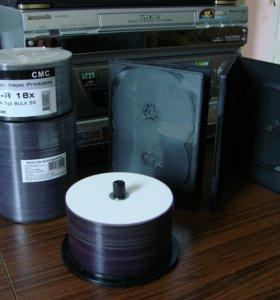 DVD-диски,блюрей-диски,DVD-боксы.
