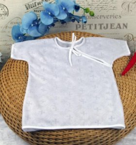Рубашка для крещения от 1 года до 2 лет(новый)