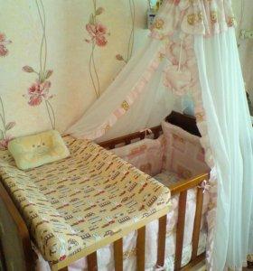 Кроватка в сборе 2500 срочно