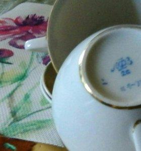 Две чайные пары ЛФЗ