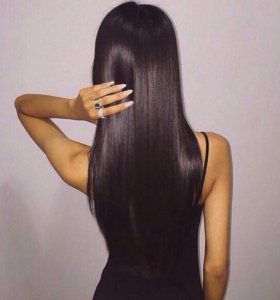Кератиновое выпрямление и Уход за волосами