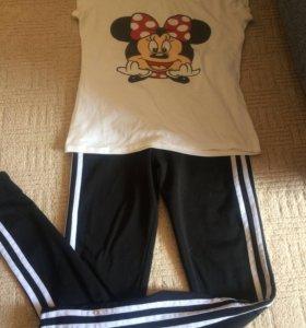 Штаны спортивные и футболка