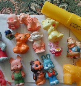 Резиновые игрушки СССР