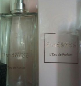 Evidence 50ml. and 100ml.