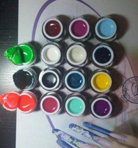 Гель-краска для дизайна Lianail, Nogtika