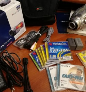 Видеокамера Sony DCR-DVD505E комплект+ Япония