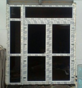 Установка и демонтаж окон и дверей.