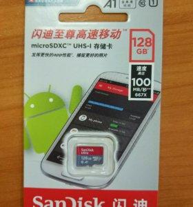 Sandisk microSDXC UHS-1 A1