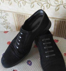 Продам туфли из замши.