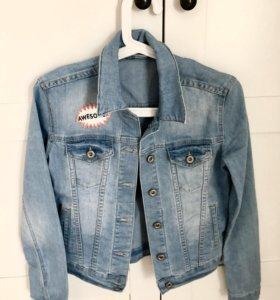 АКЦИЯ!!!Джинсовая куртка от Kira Plastinina