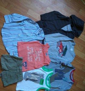Кофты, майки,шорты,рубашка