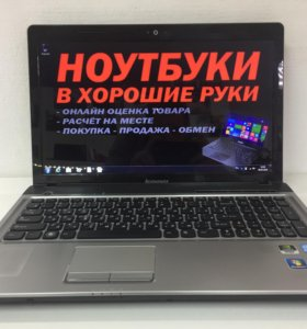 Ноутбук Lenovo IdeaPad Z560.Core i5.Рассрочка