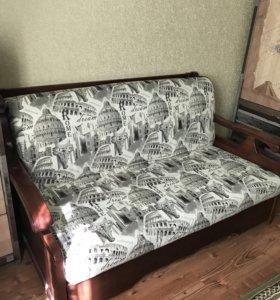 Продаётся диван в отличном состоянии (как новый)
