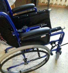 """Кресло-коляска для инвалидов складная 19"""""""