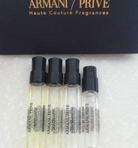 Пробники селективной туалетной воды Armani Prive