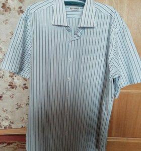 Рубашка муж /43-44 по вороту