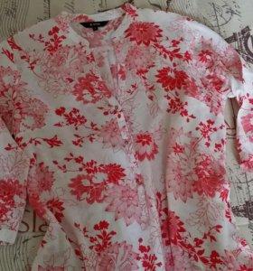 Легкая блузка(рубашечка) Ostin 42