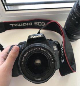 Фотоаппарат canon 550 d с объективом