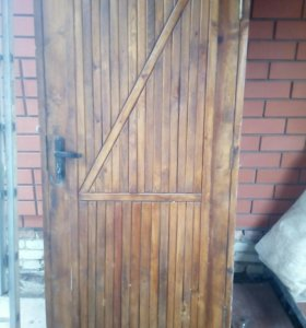 Дверь входная утепленая