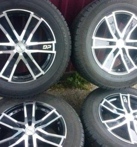 Продам шины и диски на  R 17