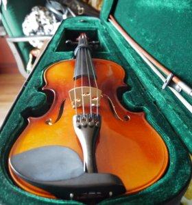 Скрипка 4/4 Комплект