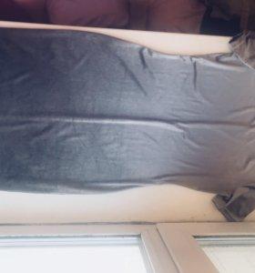 Платье под велюр
