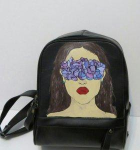 Рюкзак женский «Любовь- это прекрасно»