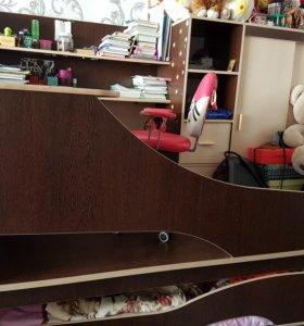 Детская мебель кровать подиум