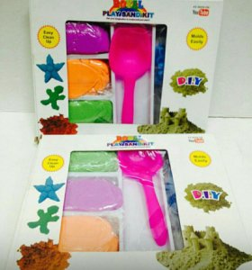 Набор цветного песка новый