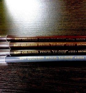 Водостойкие карандаши для бровей