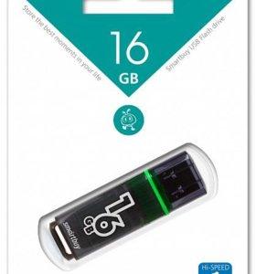USB 3.0 флешка SmartBuy 16Gb Glossy series