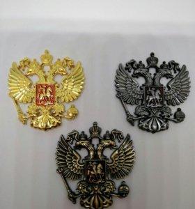 Герб металл наклейка