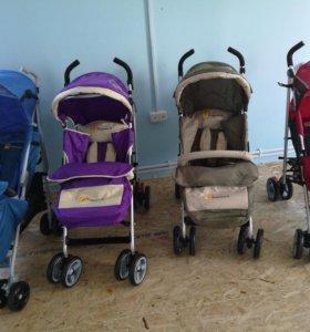 Новые прогулочные детские коляски / трости