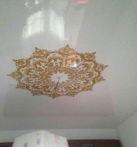 Натяжные потолки всех видов и раскрасок