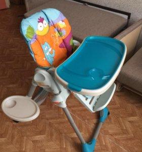 Детский стульчик для кормления Chico Polly 2 в 1