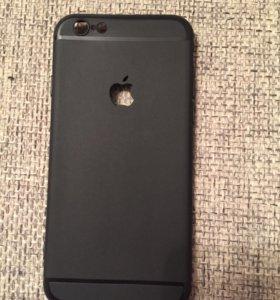 Чехол чёрный IPhone 6 6s