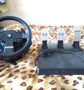 Игровой руль с педалями TMXpro