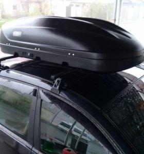 Автобокс Turino 1, черный матовый