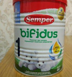 Детская смесь семпер бифидус 1