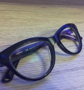 Оправа очки кошачьи Valentino
