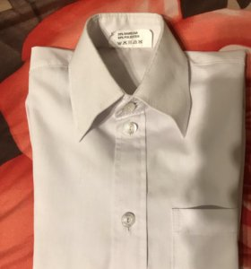 Рубашки белые рост наверное 116