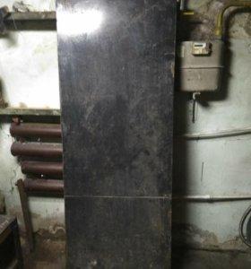 Двери металлические б/у