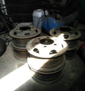 Продам диски на 16 с кольцами б/п по России